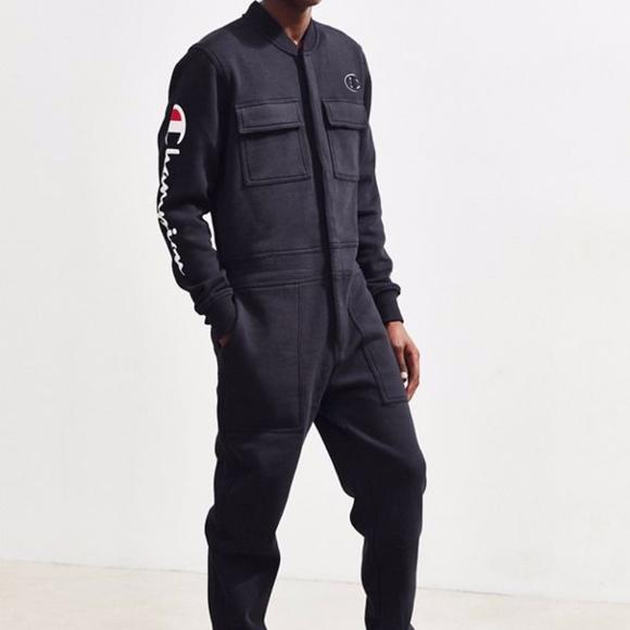 81d04ae5b6 Champion Super Fleece 3.0 Coverall Jumpsuit logo